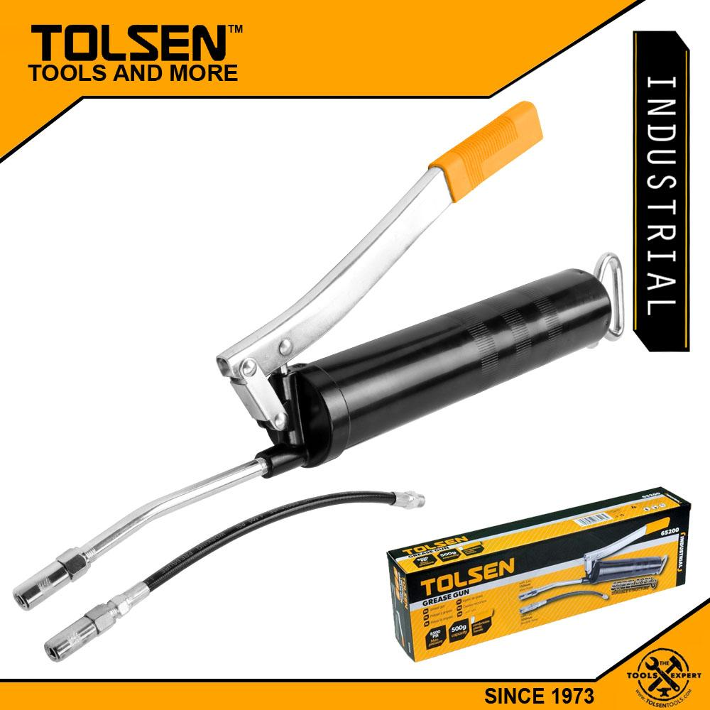 Tolsen Industrial Multi-Function Grease Gun (500g - 8500PSI) with Connector Hand Lever 65200 Philippines