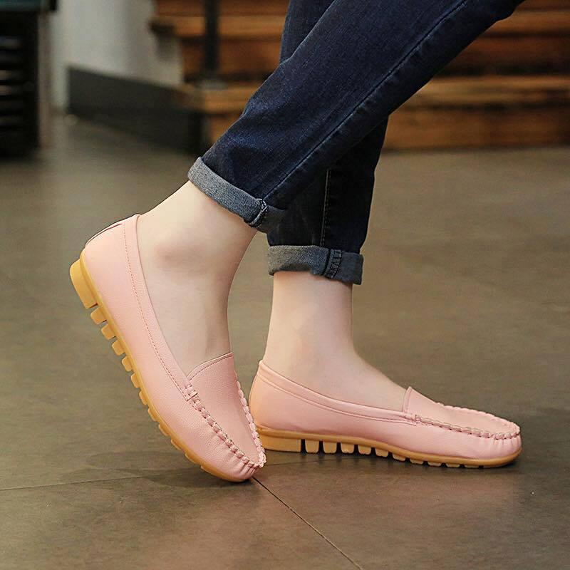Clothing, Shoes & Accessories Leather Shoes For Women Comfort Shoes