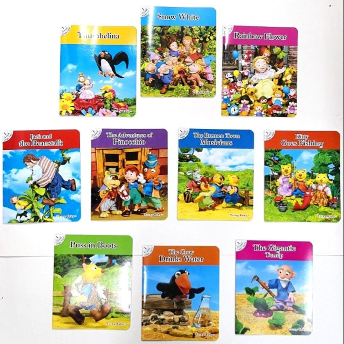 English Children Books For Sale Childrens Activity Best Bright Baby First 100 Numbers Toddlers Story Book Set 10 Pcs Classical Bedtime Kids With