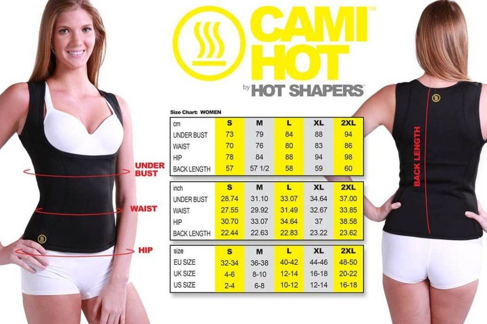 5c849eb118 Specifications of Hot Shapers Women Stretch Neoprene Slimming T Shirt