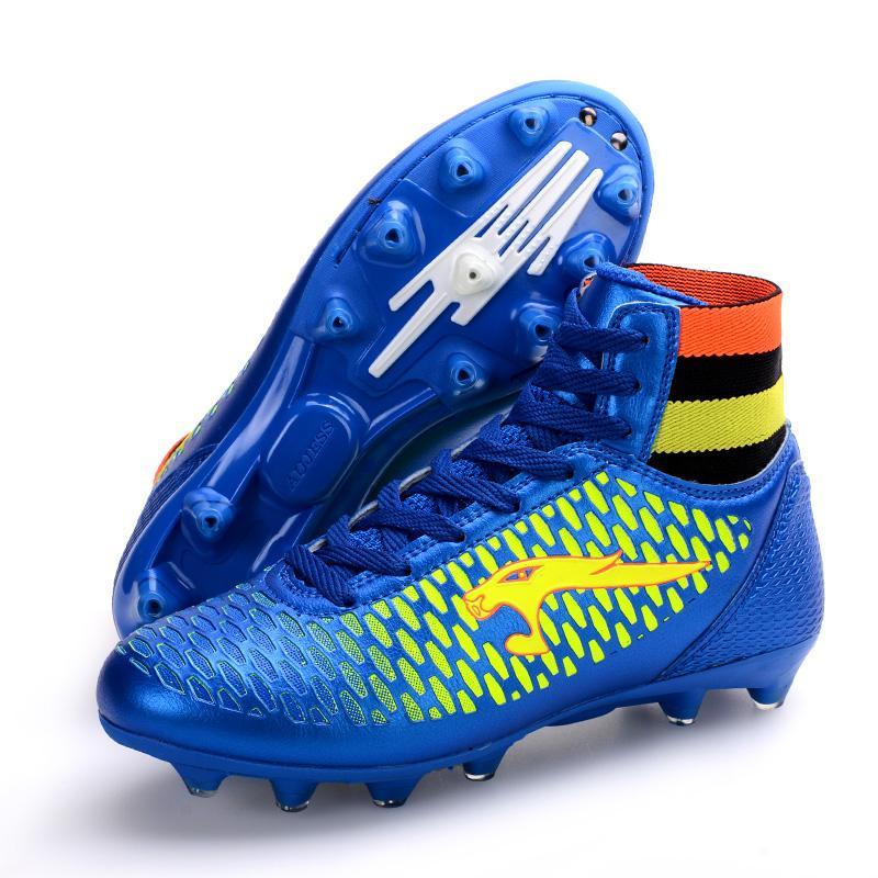 3ef3c7f740b6 High Quality 4Colors Men s Medium Classic Upper Socks Football Shoes Men  Sports Training Shoes New Style
