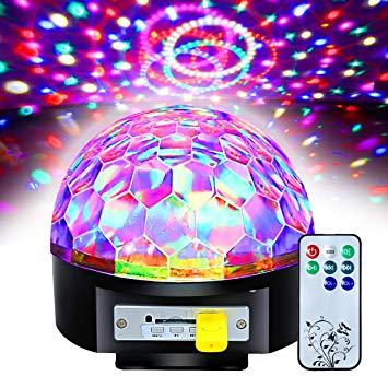 Christmas Light Remote Controls.Lighting Crystal Magic Ball Christmas Light Sd Card Mp3 Speaker Dmx512 Dj Lights Dance Club Party Disco Ball Lamps Ktv Bar Effect Lighting Show