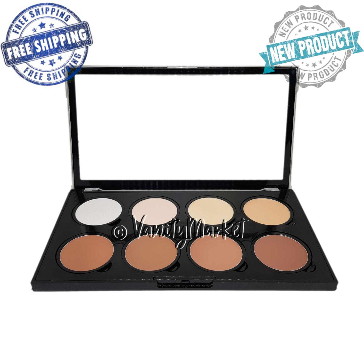 Highlighter and Contour Pro Palette 8 Shades Philippines
