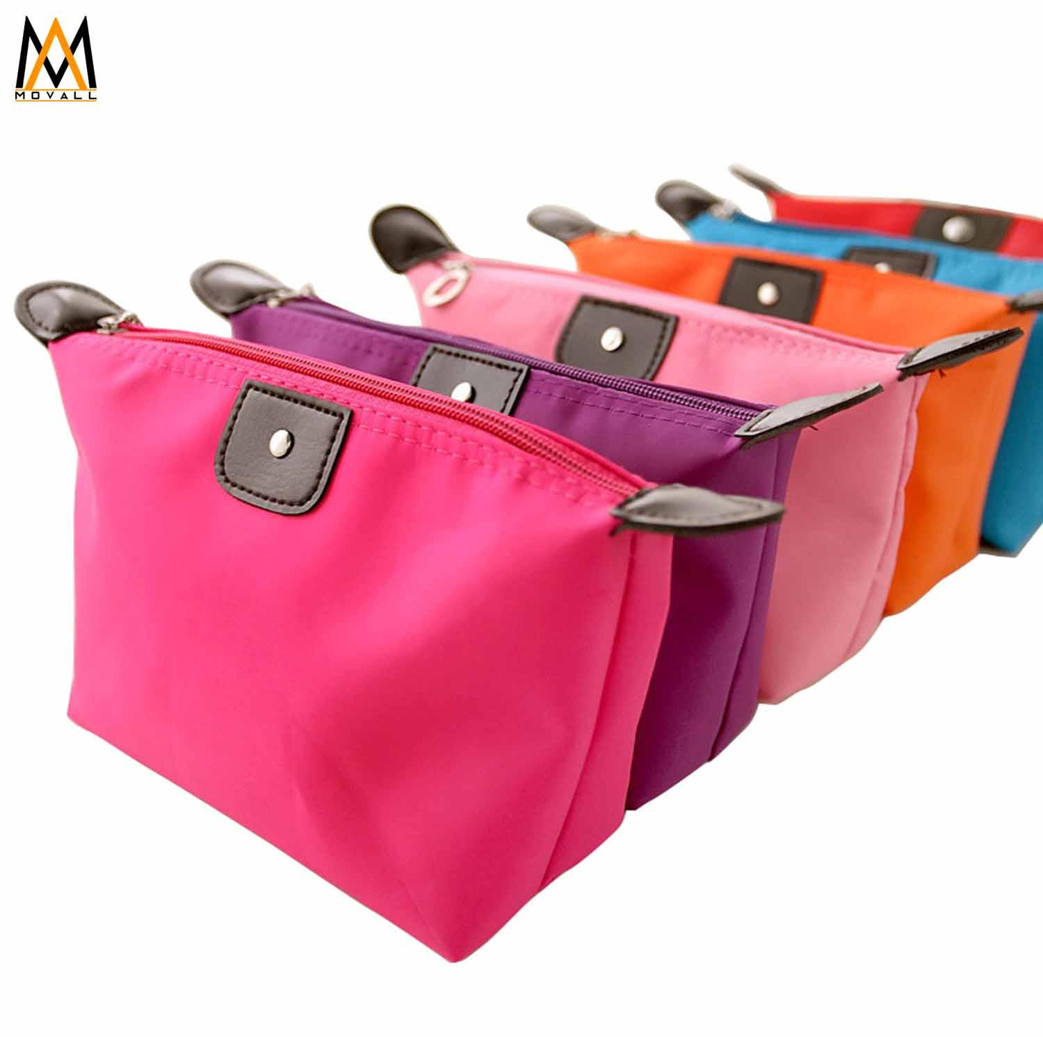 5pcs Multifunction Makeup Pouch WaterProof Organizer Pouch (Red) Philippines