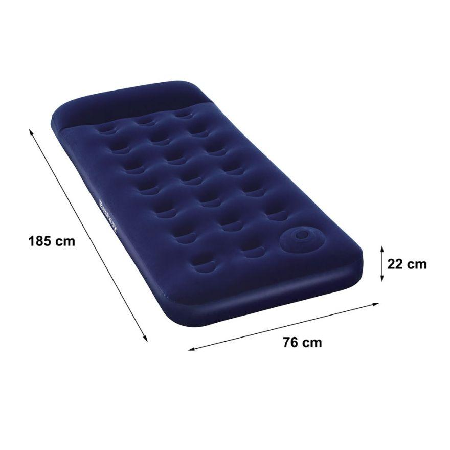 Bestway Inflatable Single Person Air Bed ( Blue) By Usje Trading.