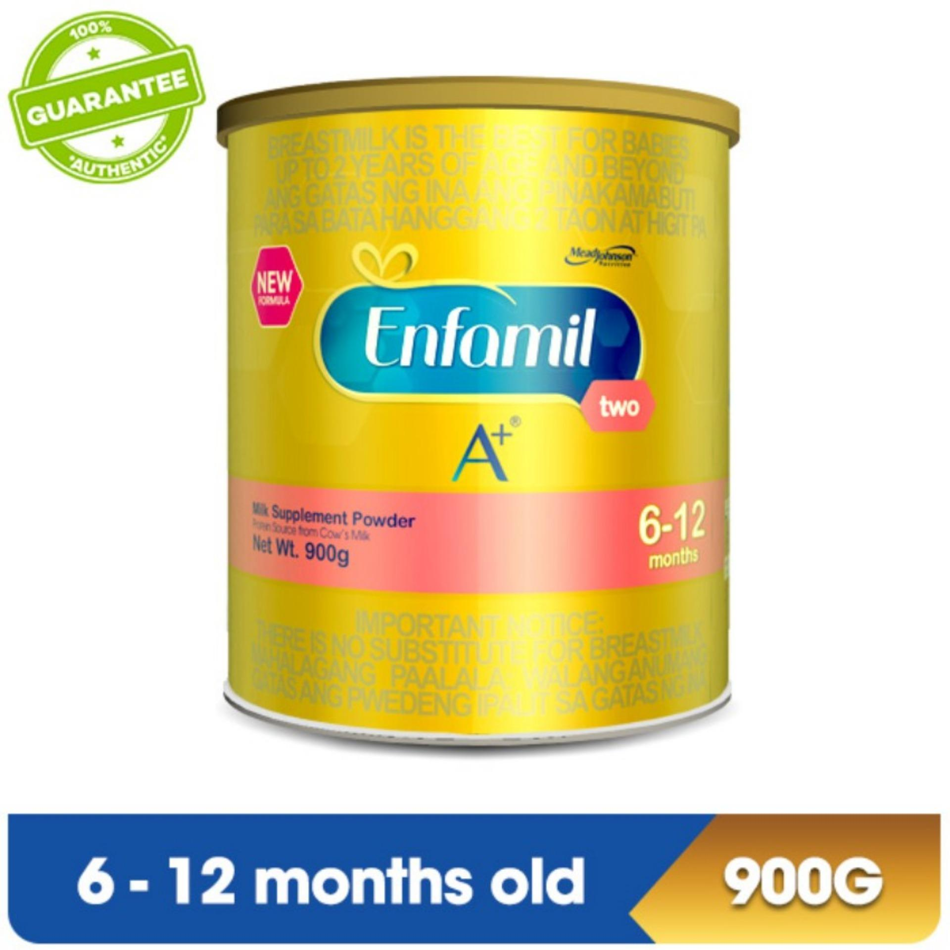 Enfamil Philippines Price List Infant Milk Formula For S26 Promise Gold 900gr Paket 8 Karton A Two Supplement Powder 6 12 Months 900g