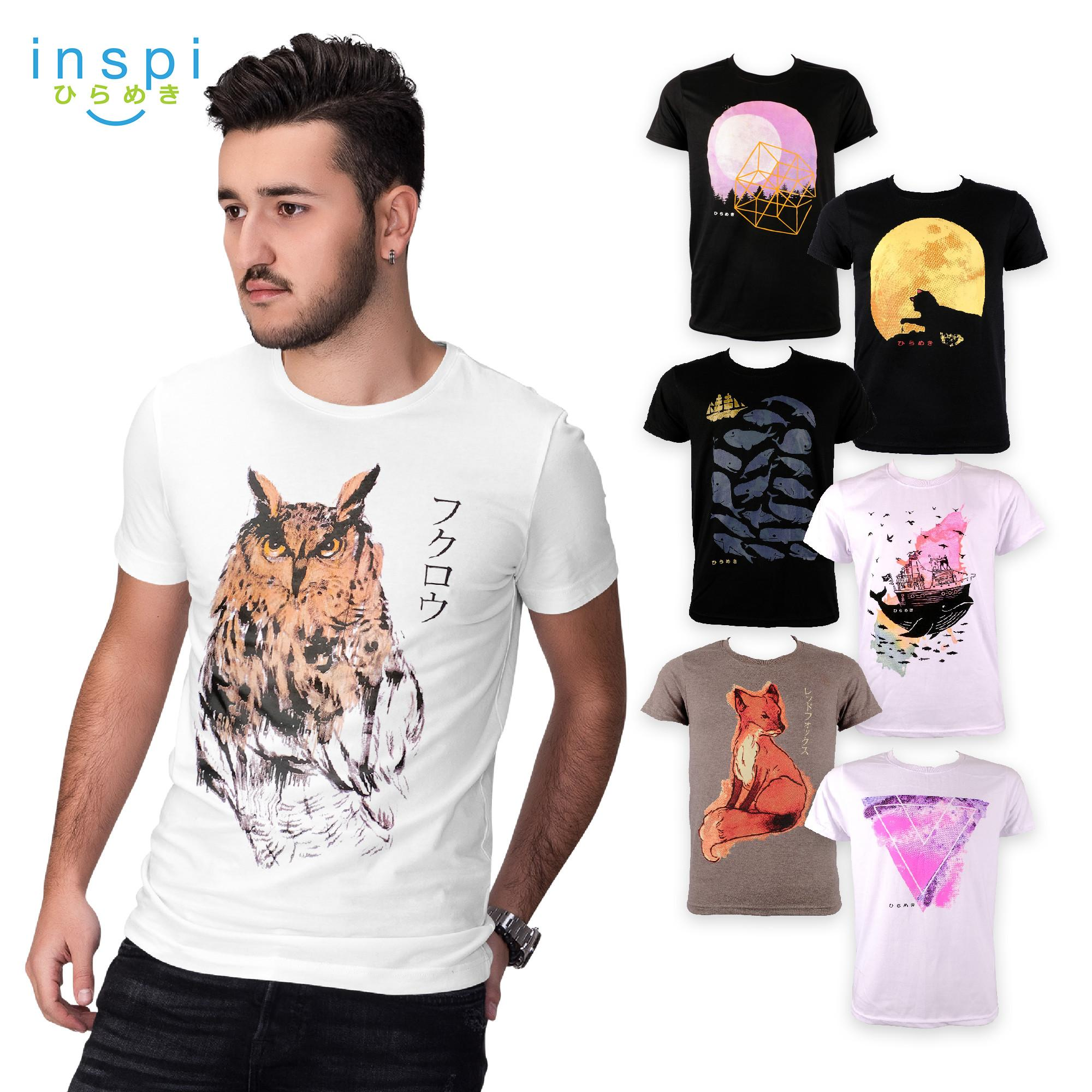 794ef569aa2 INSPI Tees Water Color Collection tshirt printed graphic tee Mens t shirt  shirts for men tshirts