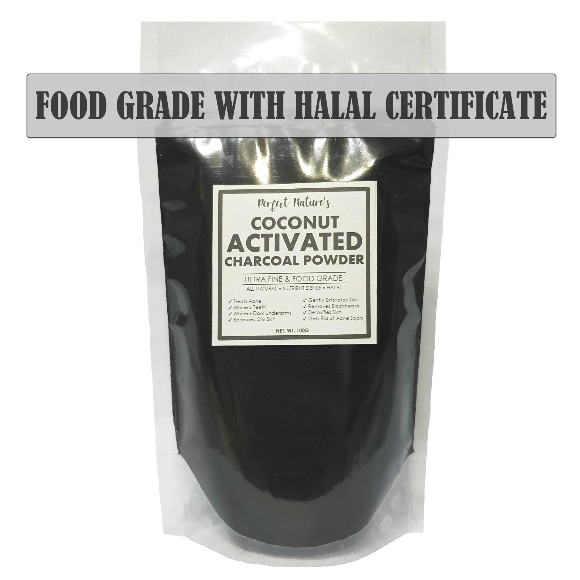 Authentic Coconut Activated Charcoal 100grams By S&s Merchandise.