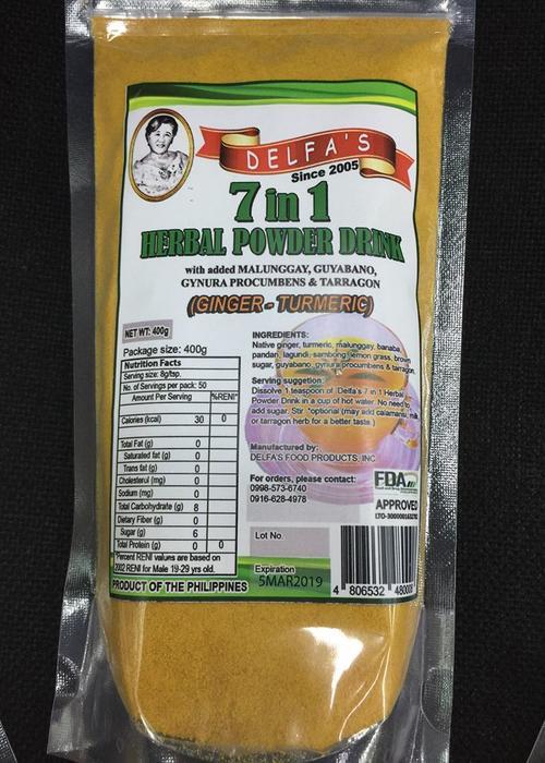 Delfa`s 7 in 1 Herbal Powder Drink
