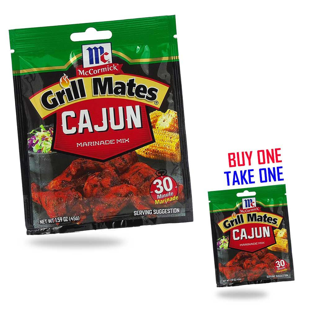 McCormick Grill Mates Cajun Marinade Mix 45g BUY ONE TAKE ONE / PH