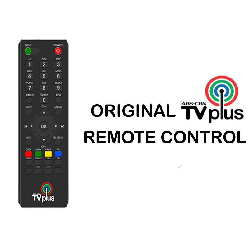 ABS-CBN TV Plus Remote Control Original Colored Logo