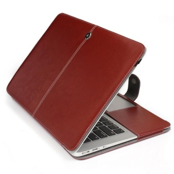 Apple Macbook Folio Flip Cover PU Leather Case Cover For Apple MacBook Air 13.3 inch(Model:A1369/A1466)