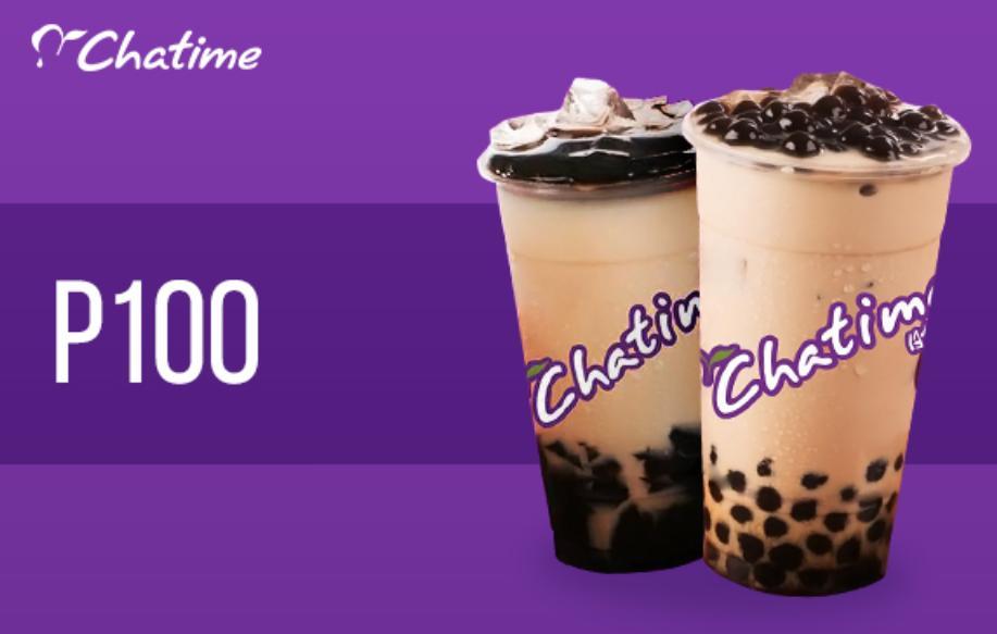 Chatime Egift Card 100 By Smart Bargains.