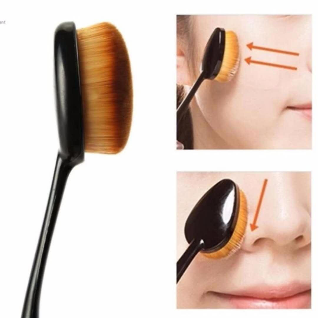 Oval make up brush foundation brush makeup brush Philippines