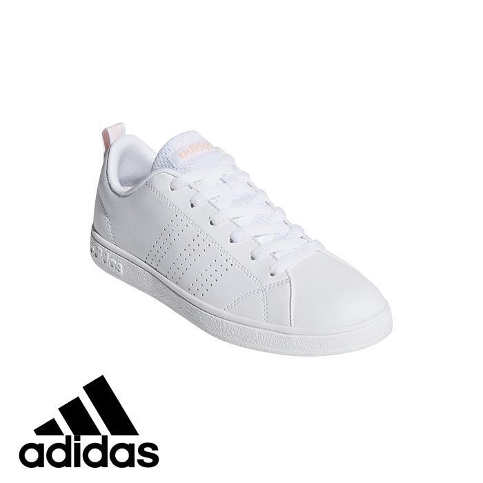 best loved 6a80b 72696 adidas Womens VS Advantage Clean Running Shoes (DB0581)