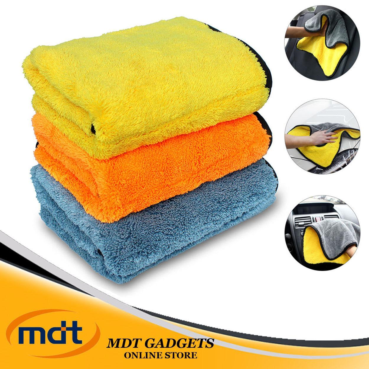 Super Absorbent Car Wash Towel Cleaning Drying Towel (multicolor) By Mdt Gadgets.