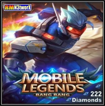 Mobile Legends 222 Diamonds