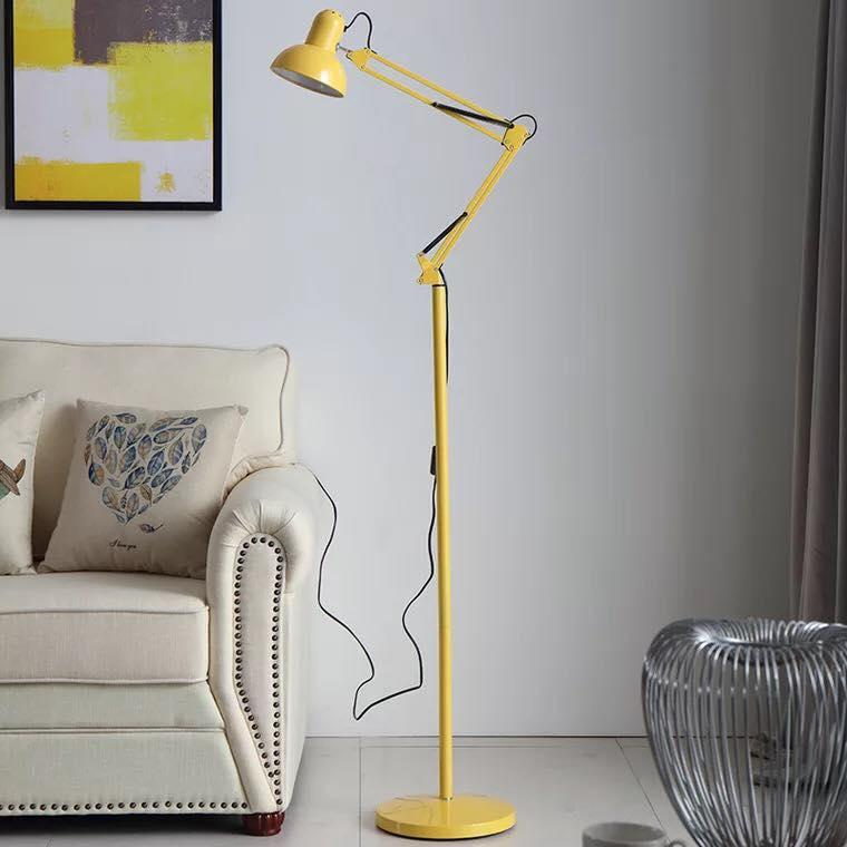 Modern Stand Floor Lamp Simple Lamps For Living Room Folding Standing Quality Adjustable Long