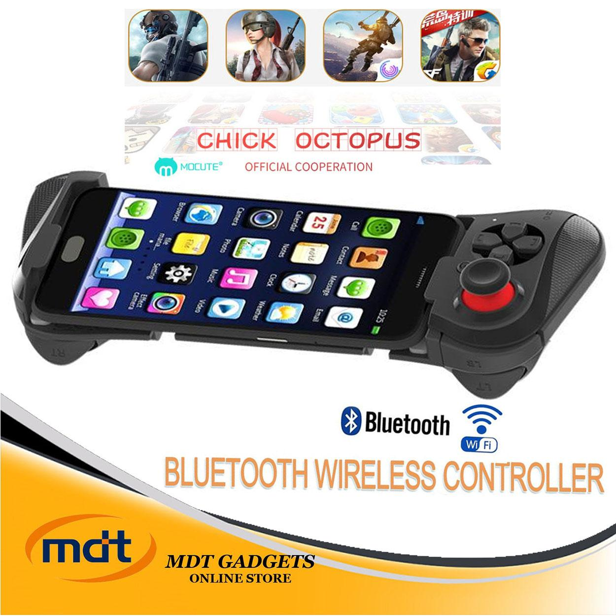 MOCUTE 058 Game Pad wireless Bluetooth Controller Joystick Remote Control Gamepad for Phone VR PC TV