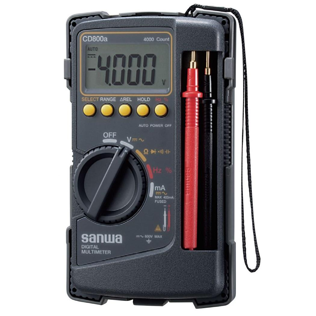 Sanwa CD800A Digital Multimeter Multitester