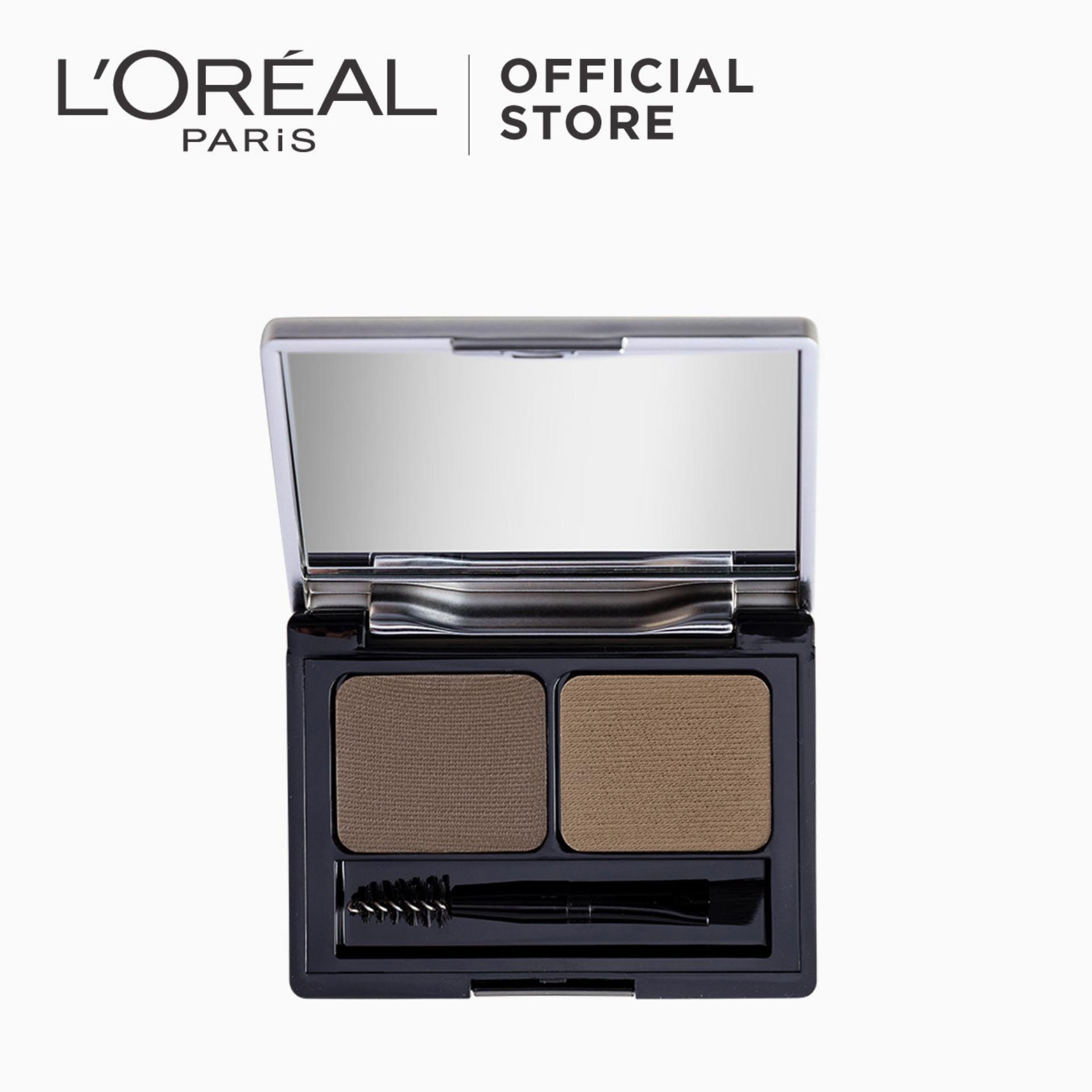 Genius Kit Shaping Eyebrow Palette - Light Brown 01 by LOréal Paris Brow Artist Philippines
