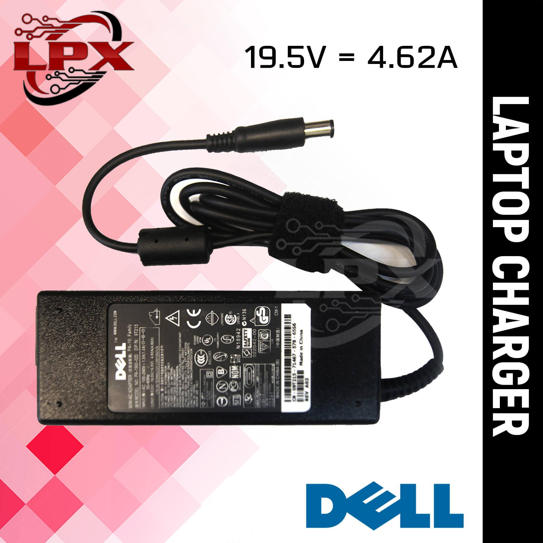 Laptop Notebook Charger Adapter for DELL 19V 4 62A 7 4mm x 5 0mm INSPIRON  N5010 N5030 N5050 N5110 N7010 N7110