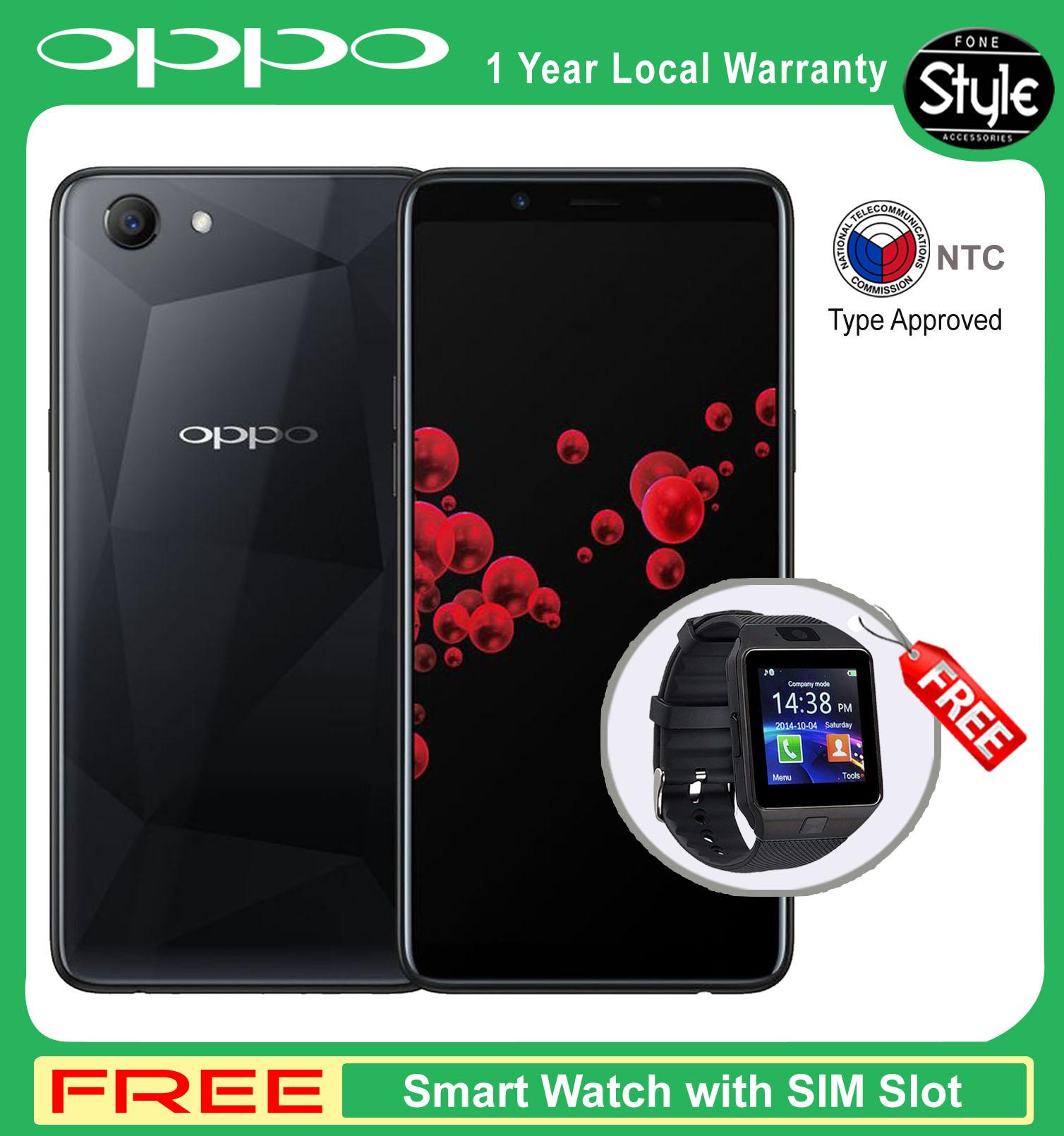 "Oppo F7 Youth 6 0"" Mobile Phone 64GB with Free Sandisk 32GB Class10"