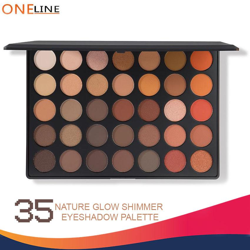 Oneline 35 Color Nature Glow Eyeshadow Pallete Philippines