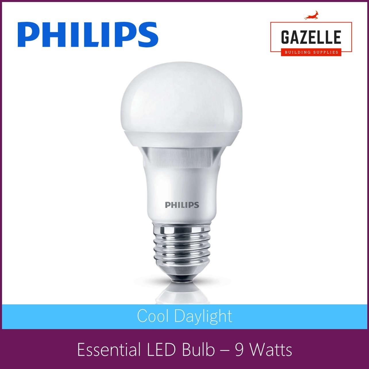 Philips Essential Daylight LED Bulb 9 Watts