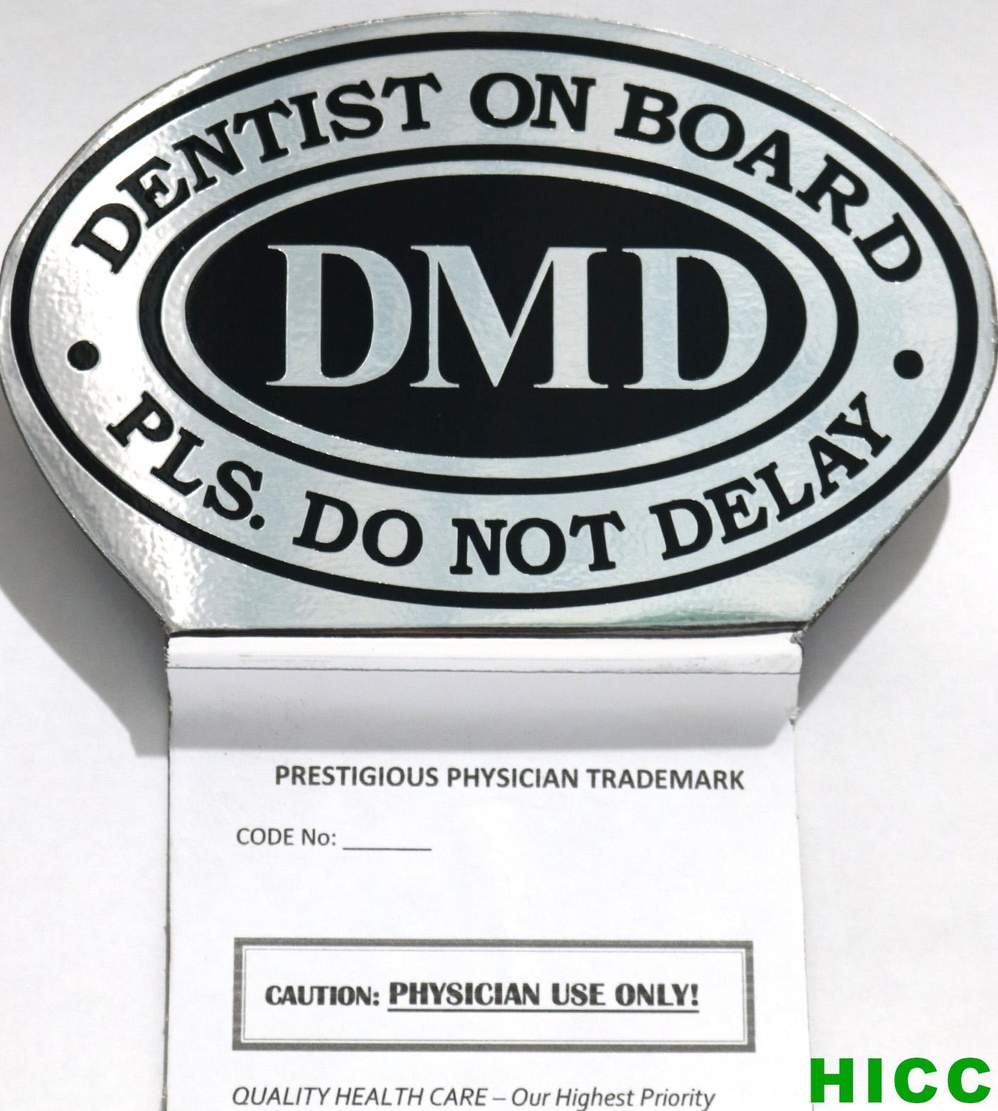 Dentist Dmd Emblem By Holistic Integrative Care Center.