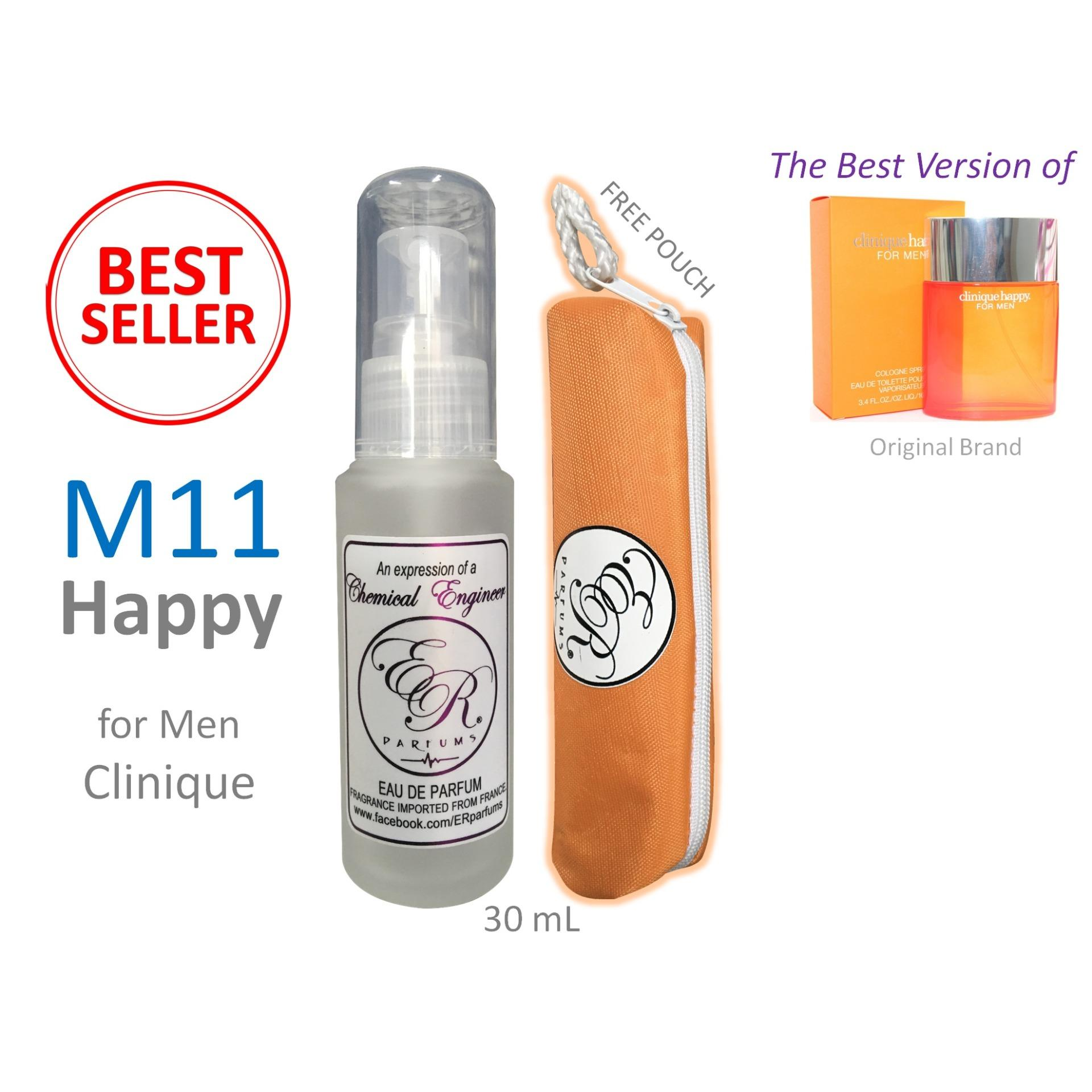 Buy Sell Cheapest Clinique Happy Perfum Best Quality Product Deals For Women Perfume Er Parfums M11 Men By 1 Piece 30 Ml With Free Pouch
