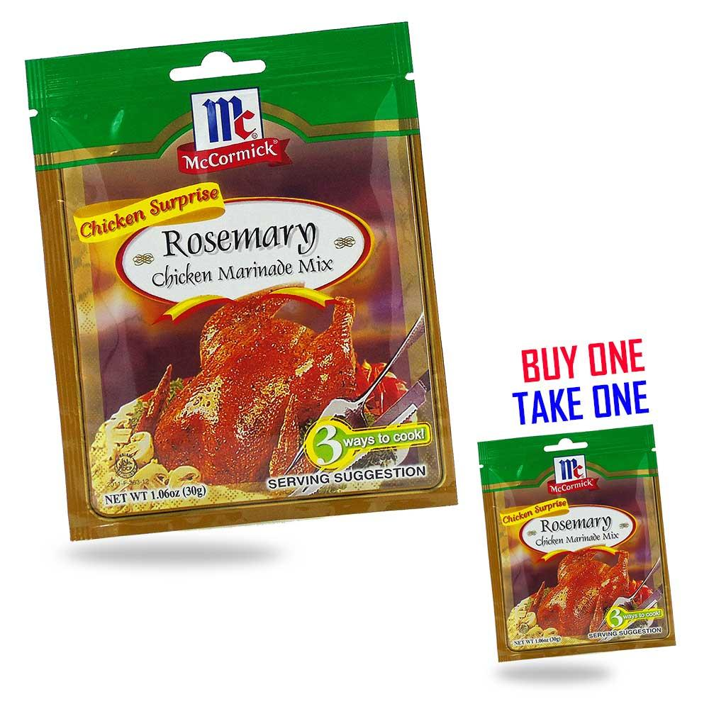 McCormick Rosemary Chicken Marinade Mix 30g BUY ONE TAKE ONE / PH