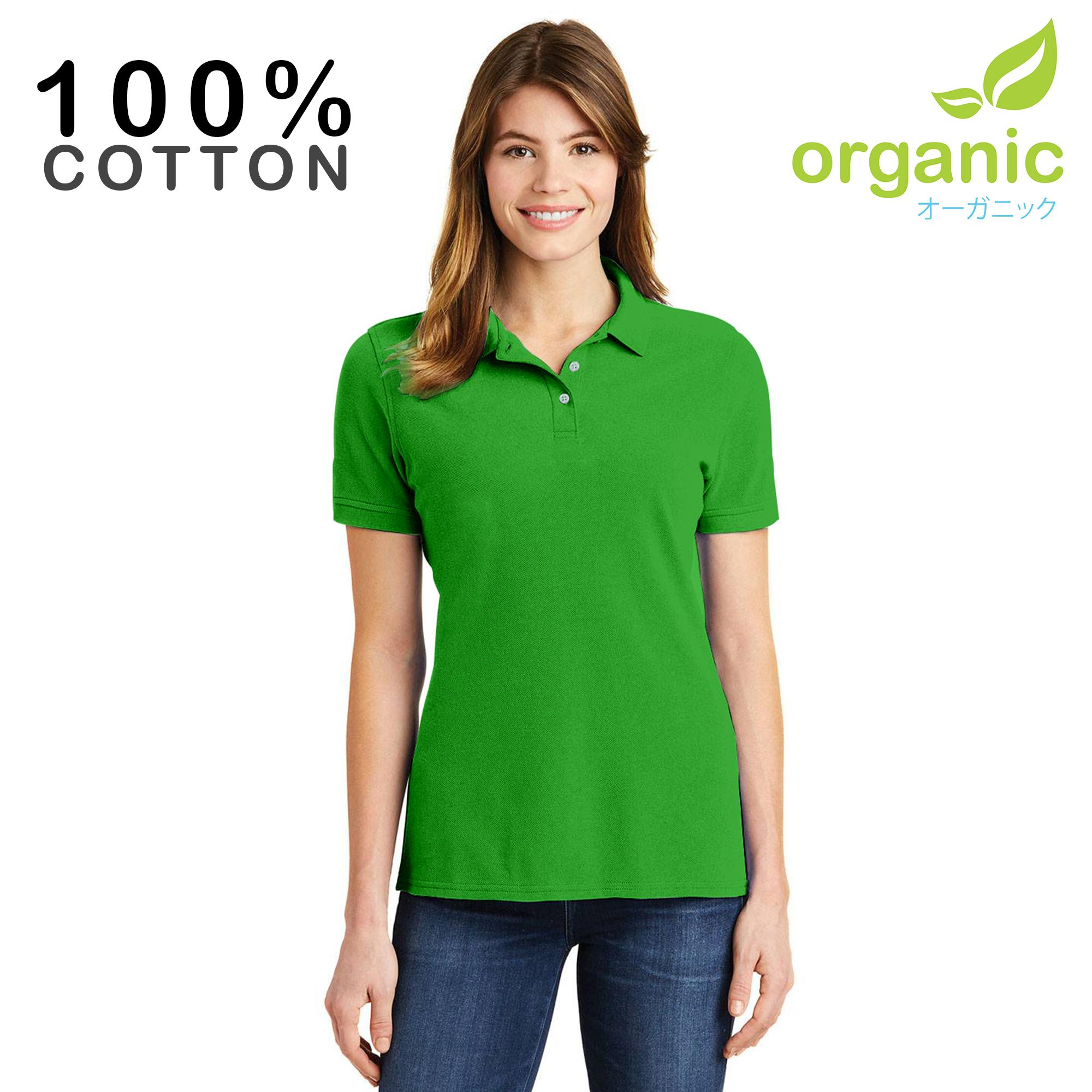 Organic Ladies Pique Polo shirt Fashionable Tees t shirt tshirt shirts  tshirts blouse tops top for bb3bcdc21