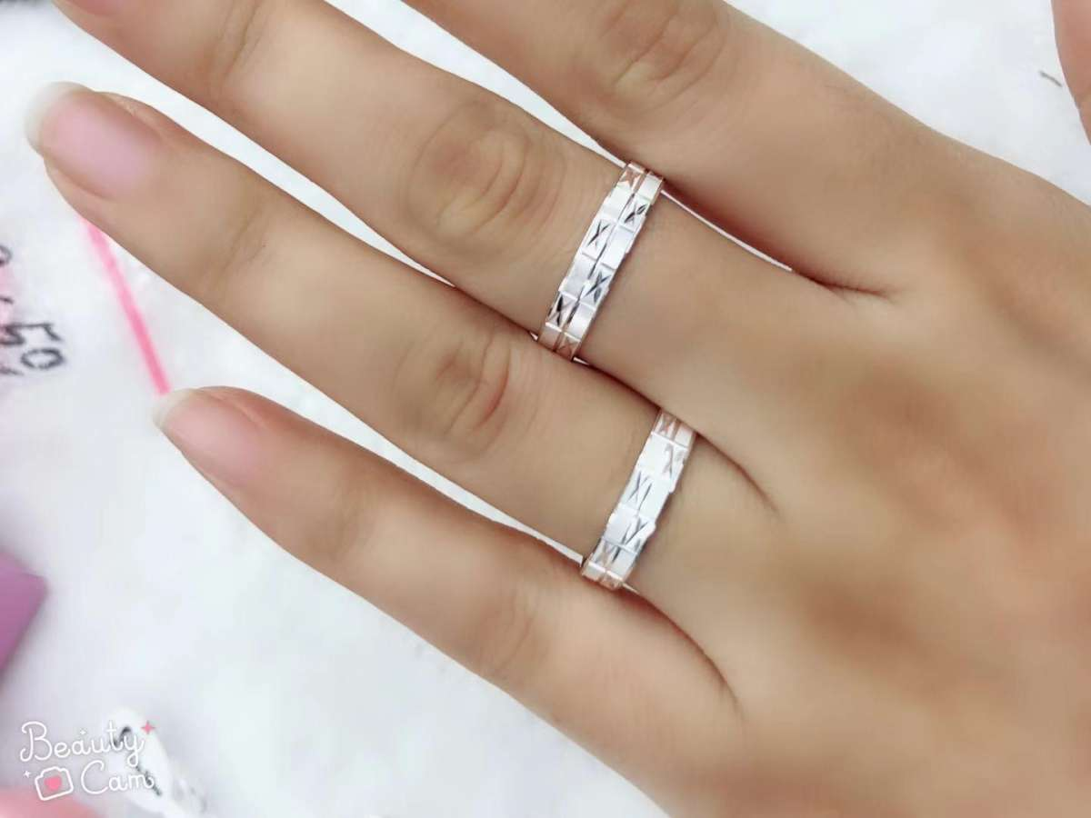 7fcffdad4f 925 Italian sterling silver fashion couple rings( price is per 1pc only)