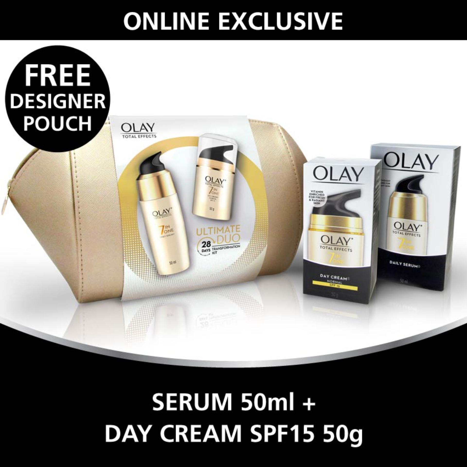 Olay Philippines Price List Anti Aging Cream Soap Total Effects 7in1 Ageing Serum 50ml Duo 28 Day Kit Save P499
