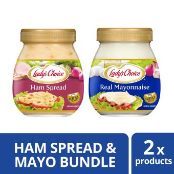 Lady's Choice Real Mayonnaise & Ham Spread 470ml Bundle