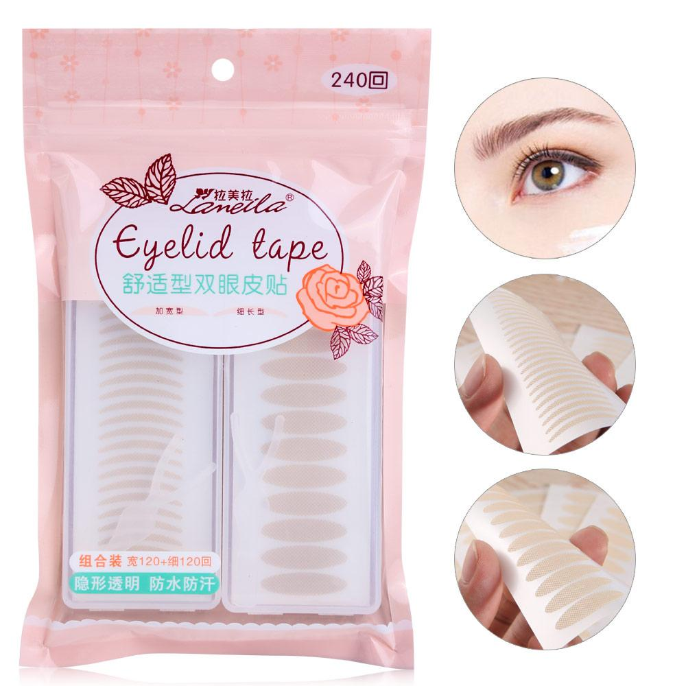 Lameila 240pairs Of Eyelid Tape Clear Eye Stickers A188 By Famuleico.
