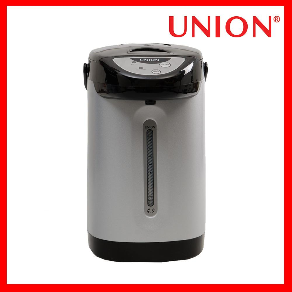 Union Ugap-4 4.0l Easy Touch Electric Airpot (black/white) By Mp-Union Global Marketing Corp..