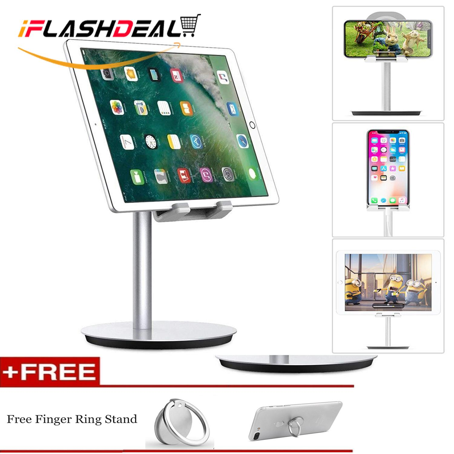 iFlashDeal Phone Stand Dock iPad Stand Desk Dock Aluminum Adjustable Stand and Holder