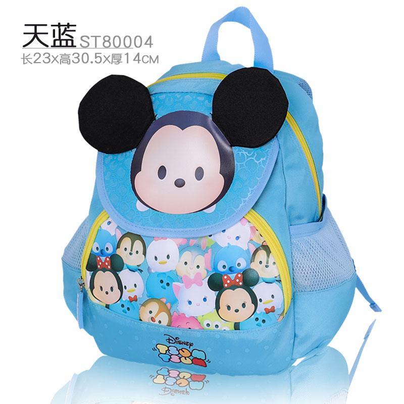 3a1b4b7651 Disney Kindergarten School bag bags boy men Cute mickey cartoon 1-3-5-