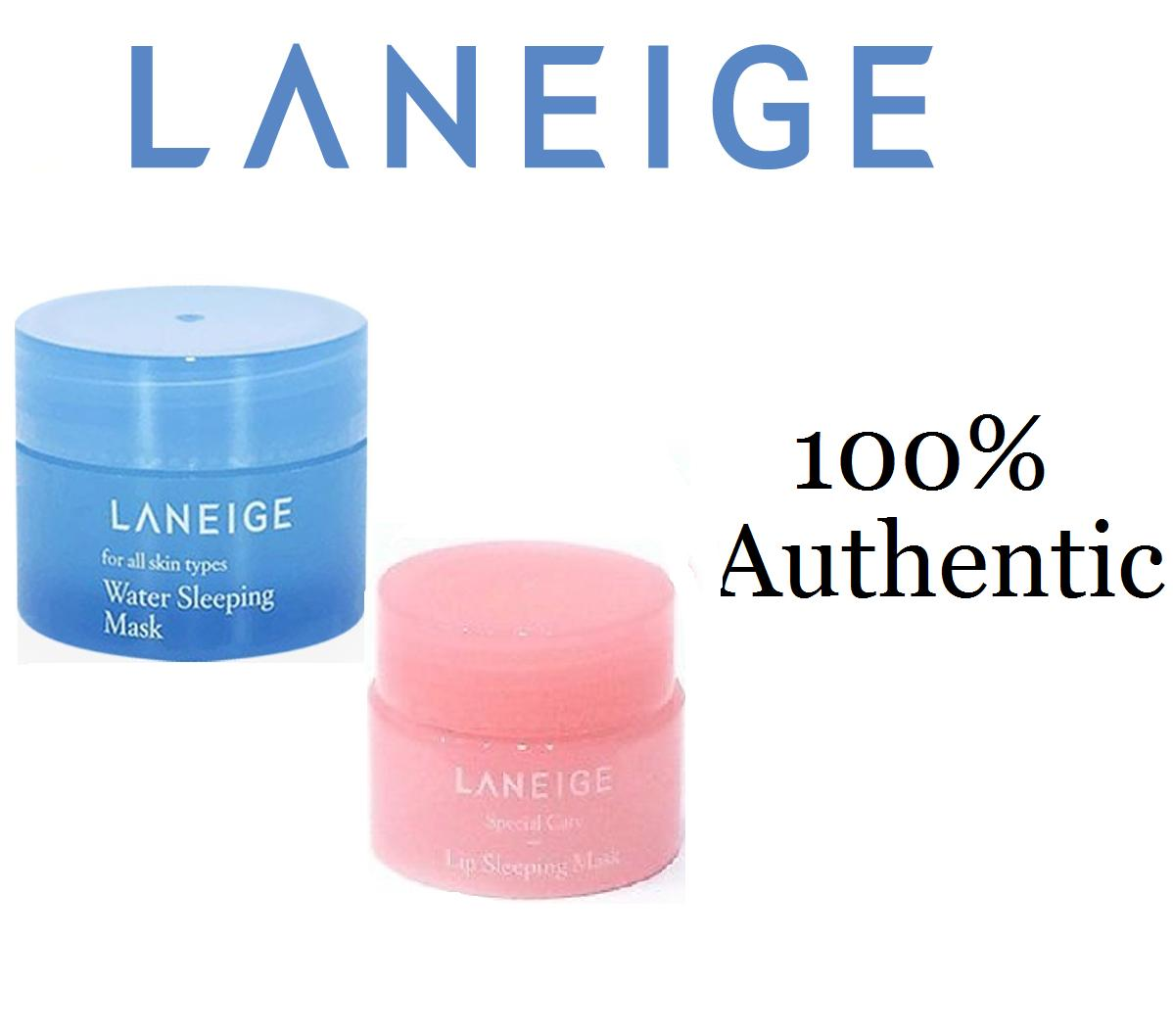 Skincare Sets Brands Gift On Sale Prices Set Laneige Lip Sleeping Mask Travel Size Special Care Water 15ml With