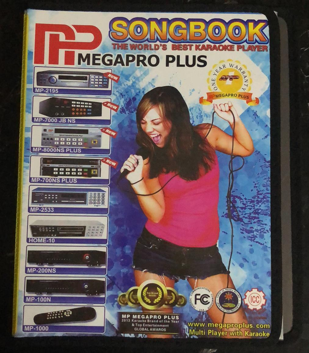 Megaproplus Mp100ns Piolo Jr Hdmi Karaoke Player Dvd Songbook Platinum Videoke Wiring Diagram Megapro Mp100 Clearbook 100page Philippines
