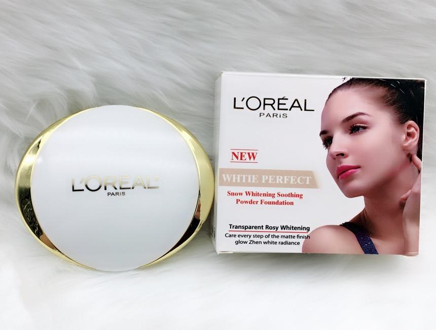 #C12 LOREAL PARIS WHITE PERFECT SNOW WHITENING SOOTHING POWDER FOUNDATION Philippines
