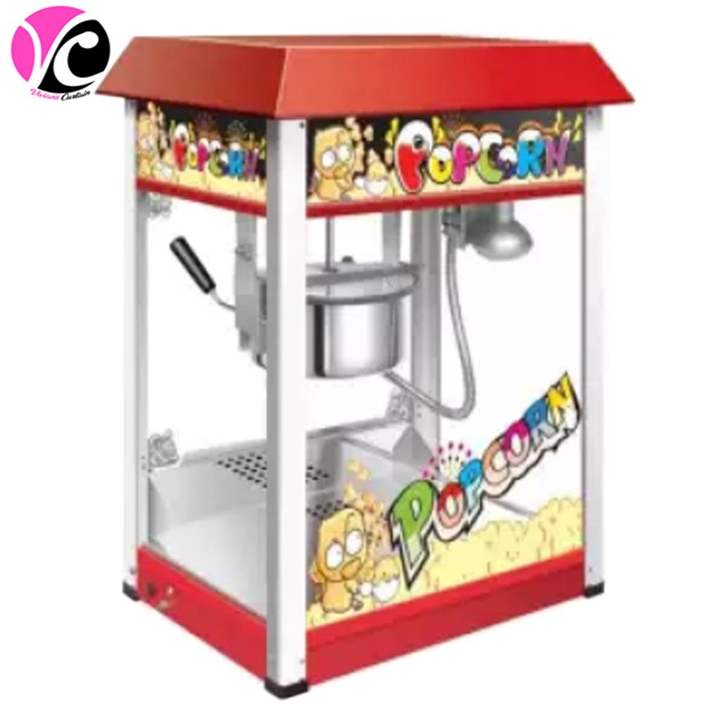 Heavy Duty Full Size Popcorn Making Machine 8oz By Vivians Curtains.