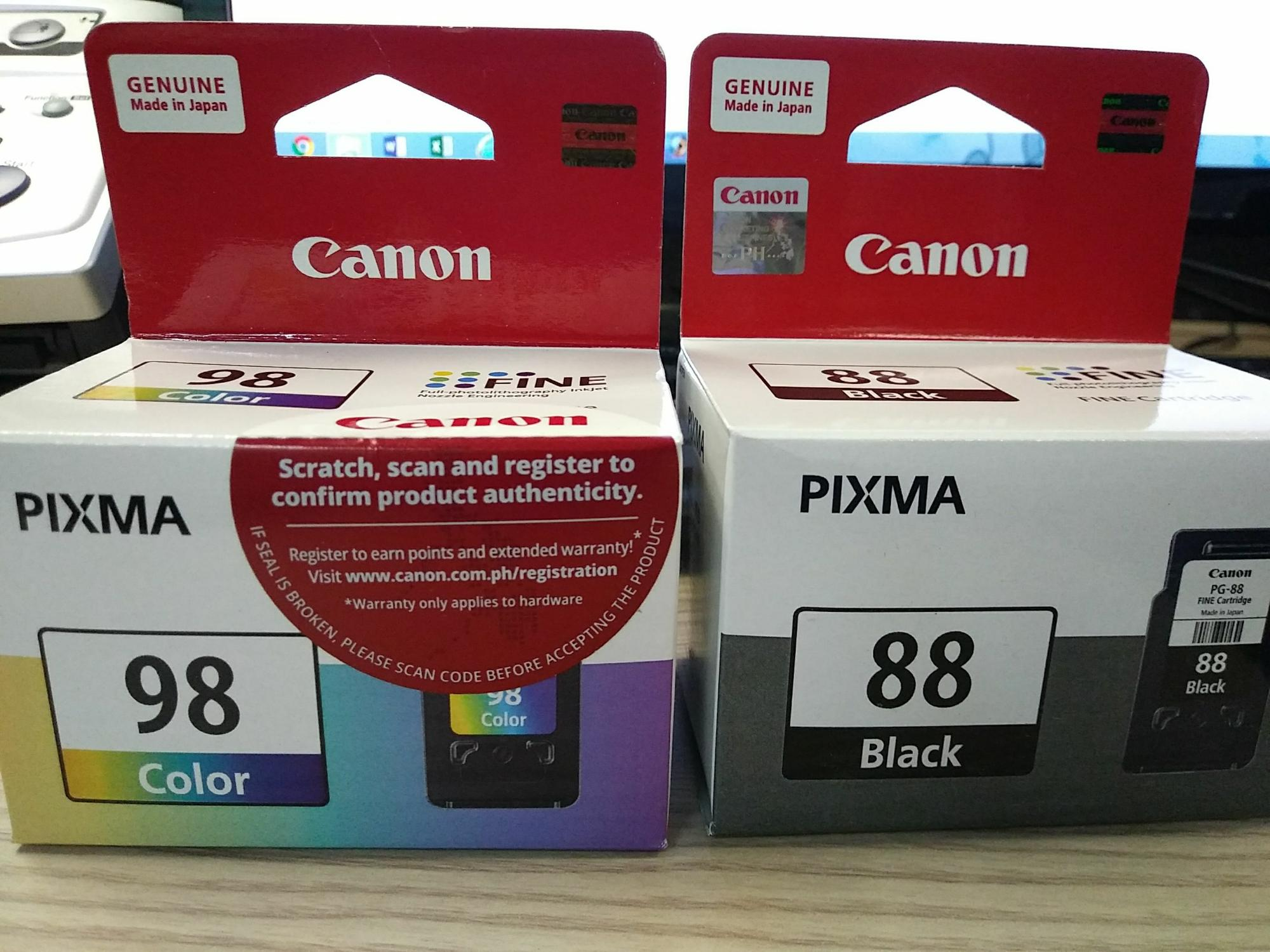 Buy Sell Cheapest Canon Pixma Ink Best Quality Product Deals Tinta Ori Gi 790 Black Bundle Pg88 Cl98