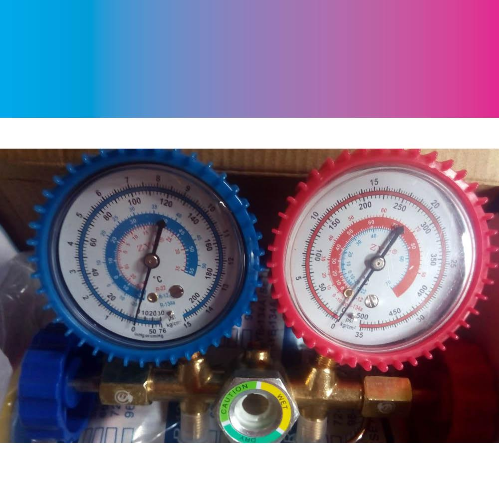 Car Air Conditioning For Sale Auto Online Brands 99 Honda Civic Ex Fuse Box Diagram Manifold Gauge Brass 134a Aircon Parts