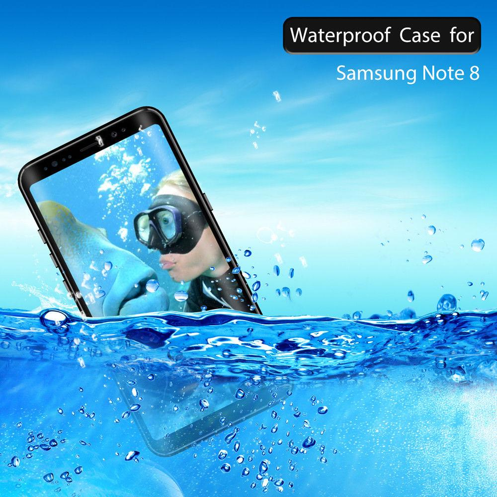 size 40 09f63 aab8a Authentic Red Pepper Dot Series Waterproof Case for Samsung Galaxy Note 8