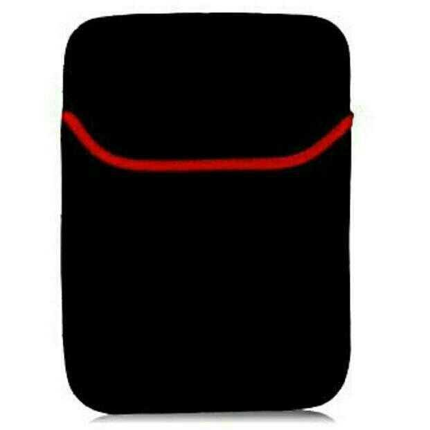 12 Inch High Quality Laptop Pouch Sleeve Case Bag Scratch Proof Water Resistant Reversible (black) By Microplanet.
