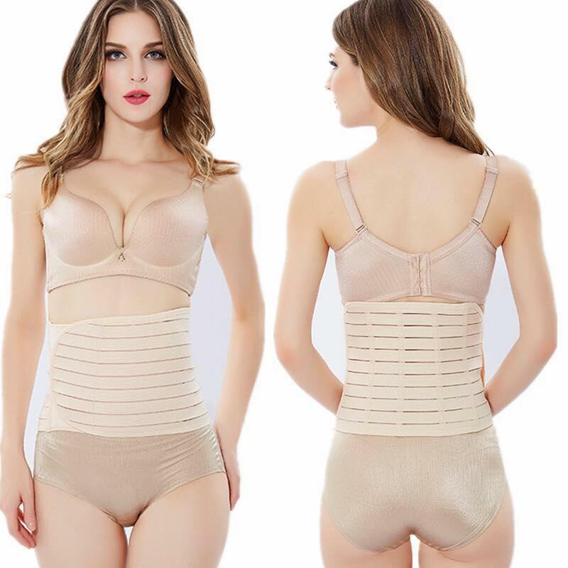 239b4d457e Maternity Post Partum Pregnancy Surgery Recovery Belly Binder Supporting  Belt Slimming Girdle Double Binding Support