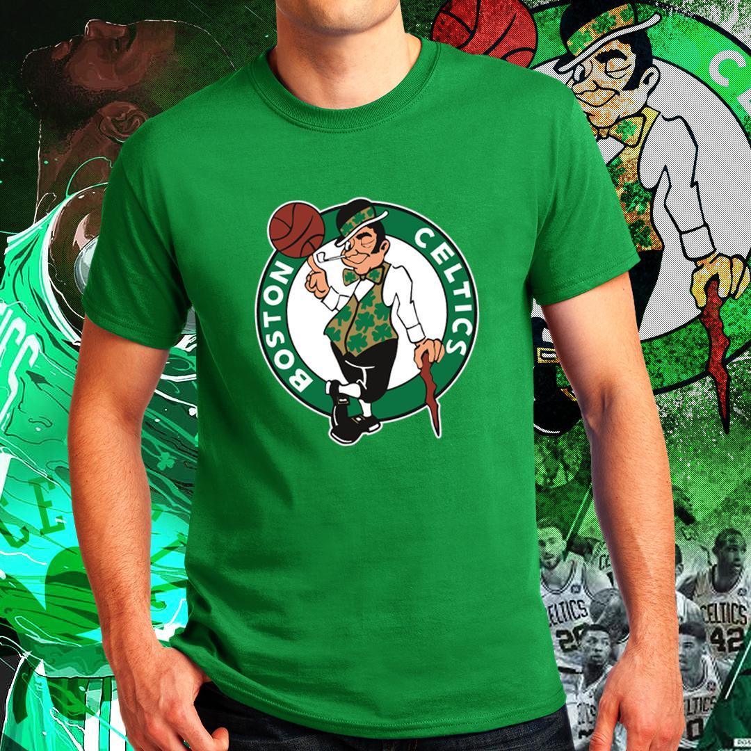 Boston Celtics Kyrie Irving Uncle Drew NBA Basketball Sports Team Tshirt  for Men f87f67098